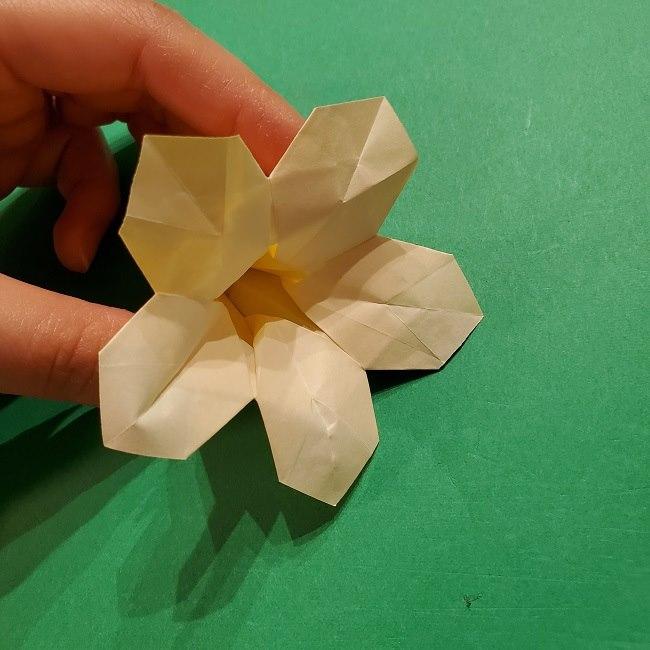 折り紙 ツツジの花の折り方作り方 (55)