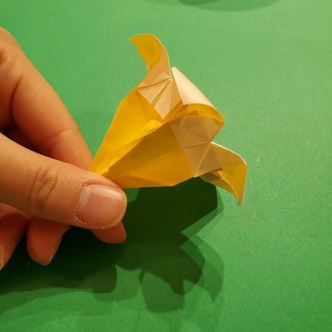 折り紙 ツツジの花の折り方作り方 (58)