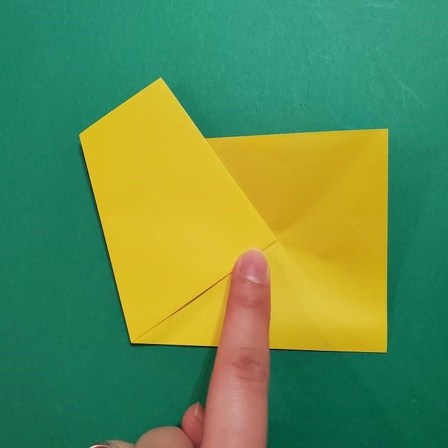 折り紙 ツツジの花の折り方作り方 (8)