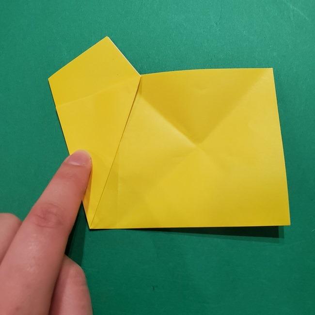 折り紙 ツツジの花の折り方作り方 (9)