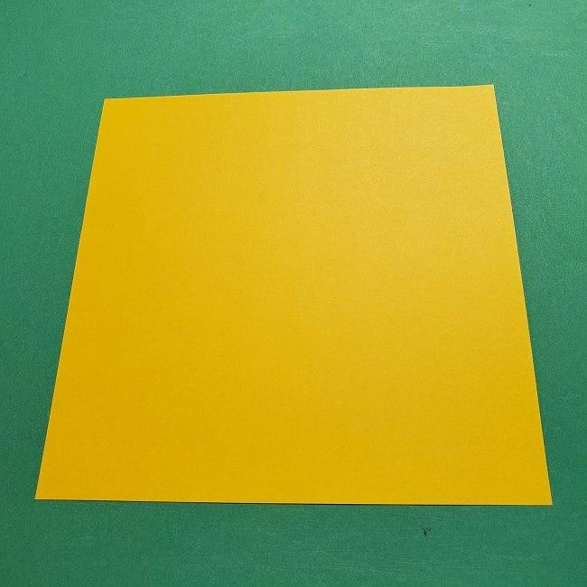 折り紙 マリオのゲッソーの折り方作り方 (1)