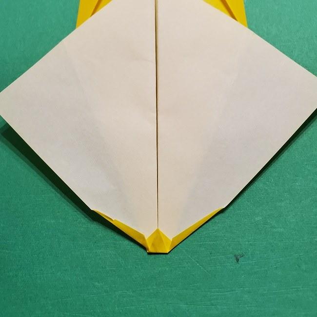 折り紙 マリオのゲッソーの折り方作り方 (10)