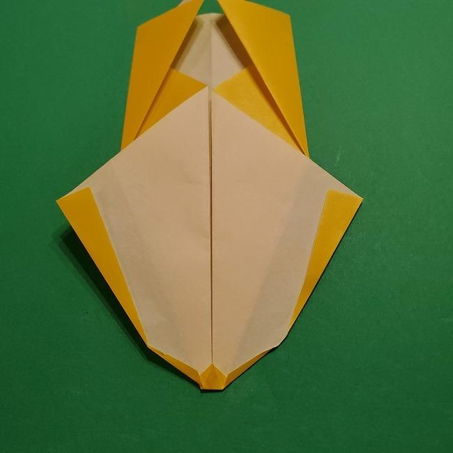 折り紙 マリオのゲッソーの折り方作り方 (11)