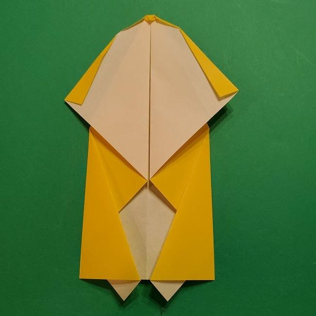 折り紙 マリオのゲッソーの折り方作り方 (12)