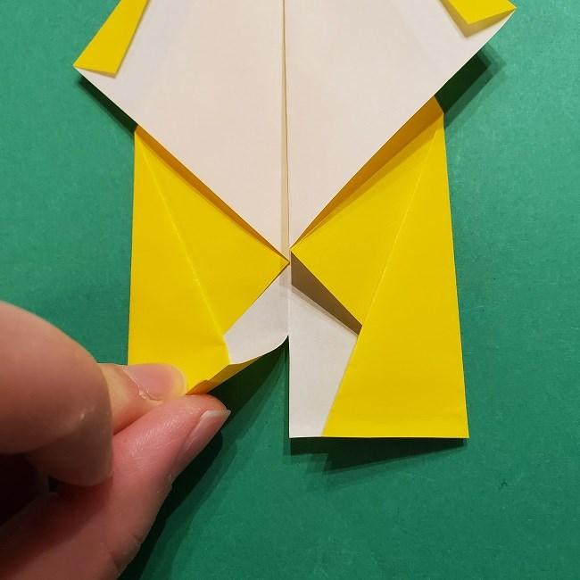 折り紙 マリオのゲッソーの折り方作り方 (16)
