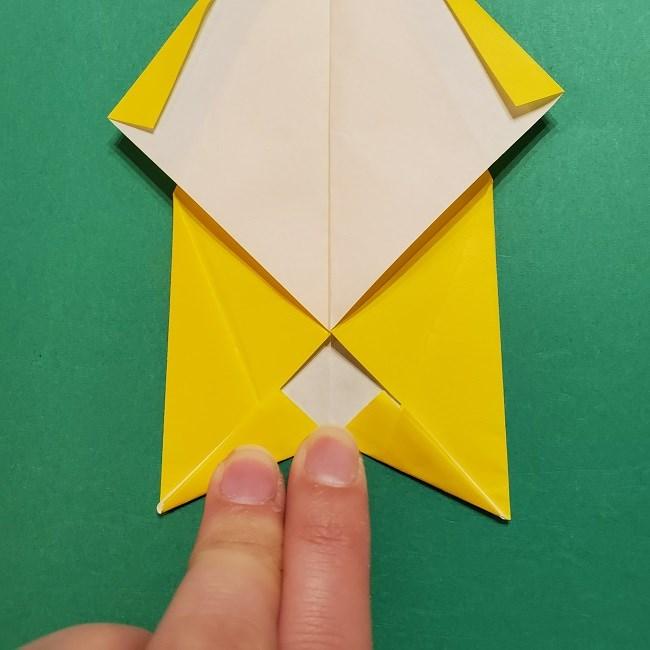 折り紙 マリオのゲッソーの折り方作り方 (17)
