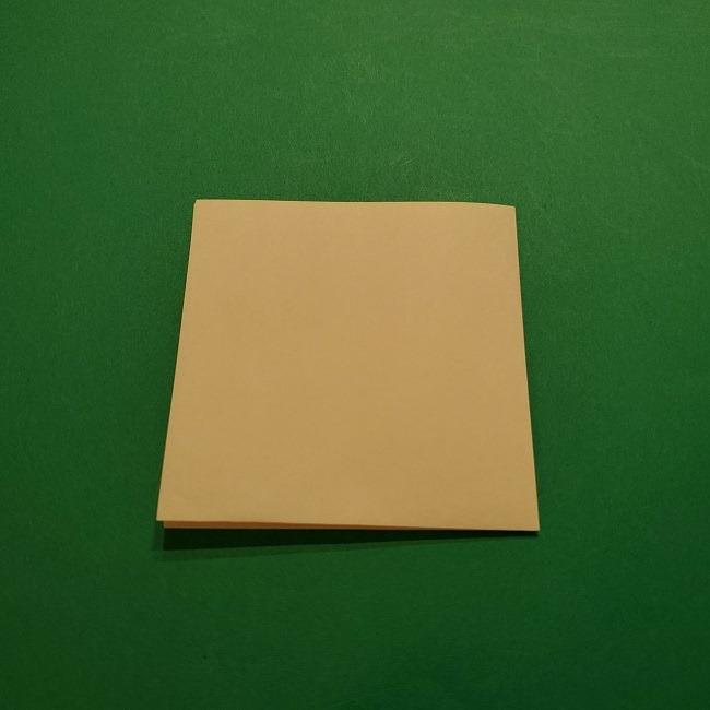 折り紙 マリオのゲッソーの折り方作り方 (3)
