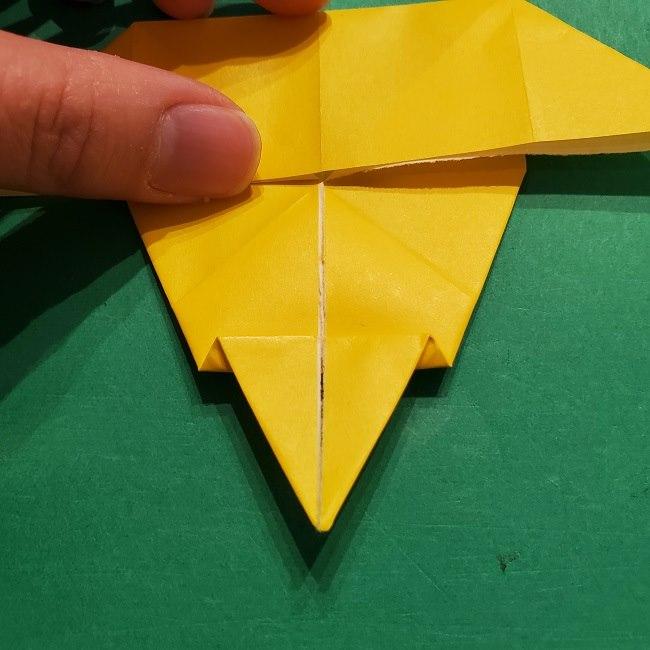 折り紙 マリオのゲッソーの折り方作り方 (34)