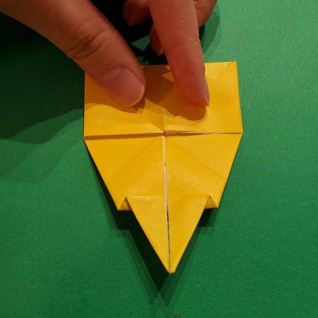 折り紙 マリオのゲッソーの折り方作り方 (35)