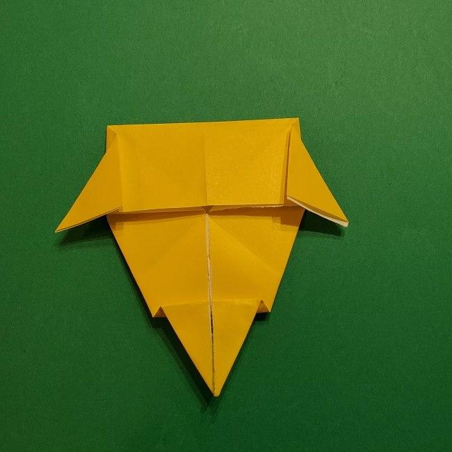 折り紙 マリオのゲッソーの折り方作り方 (36)