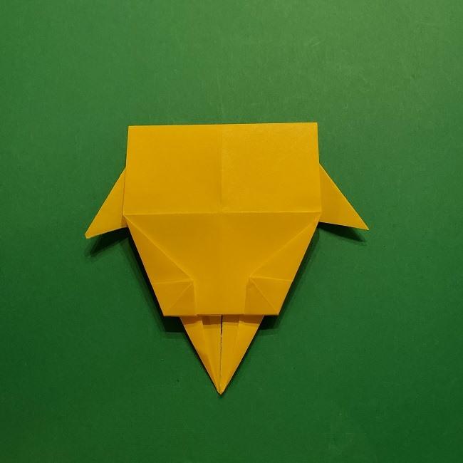 折り紙 マリオのゲッソーの折り方作り方 (37)