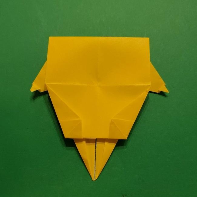 折り紙 マリオのゲッソーの折り方作り方 (39)