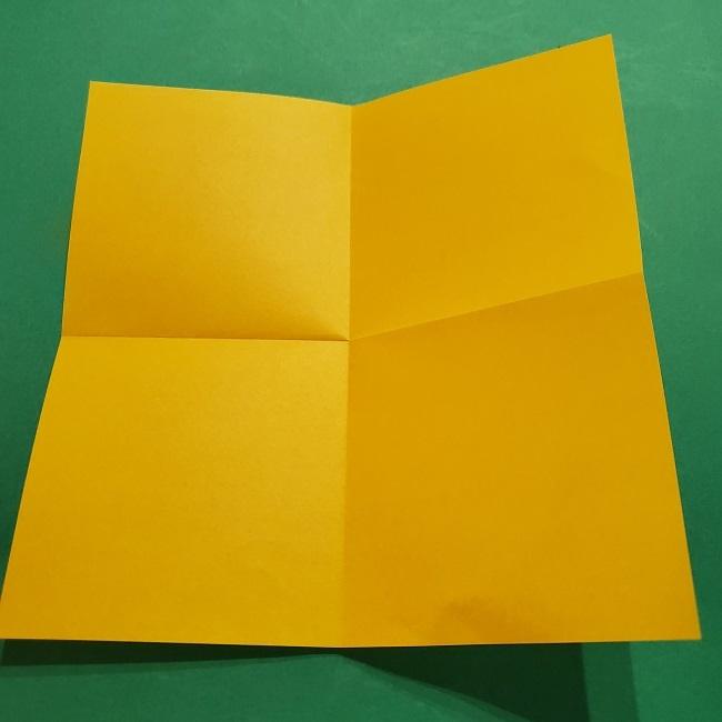 折り紙 マリオのゲッソーの折り方作り方 (4)