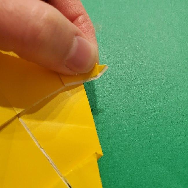 折り紙 マリオのゲッソーの折り方作り方 (40)