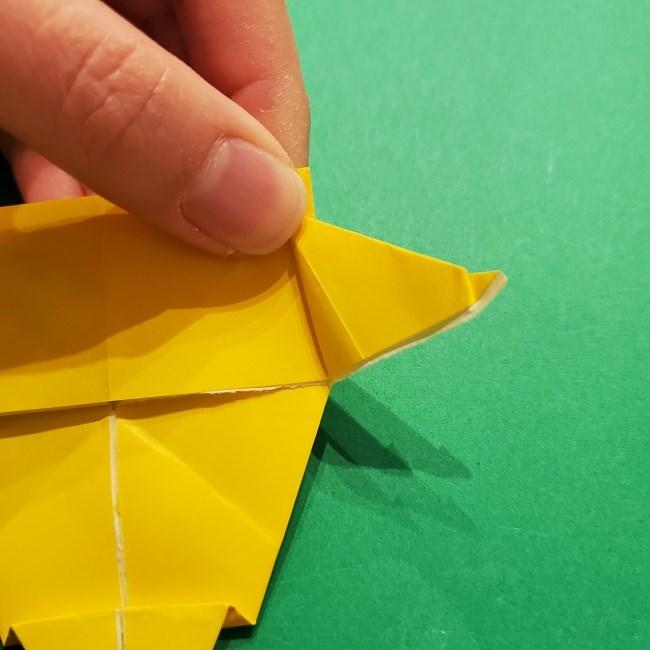 折り紙 マリオのゲッソーの折り方作り方 (41)