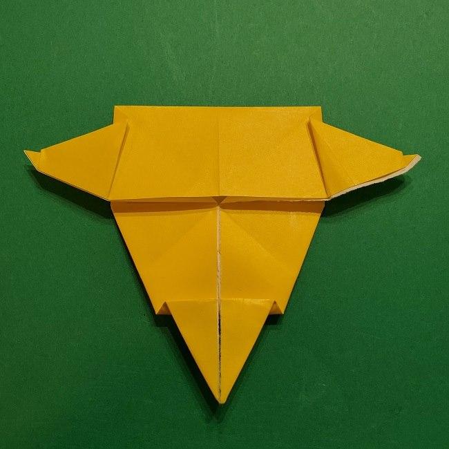 折り紙 マリオのゲッソーの折り方作り方 (42)