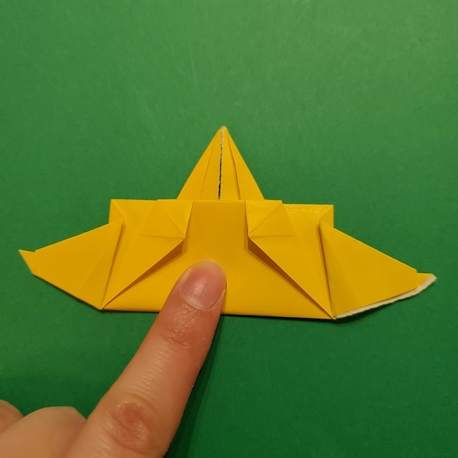折り紙 マリオのゲッソーの折り方作り方 (43)