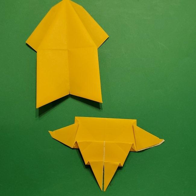 折り紙 マリオのゲッソーの折り方作り方 (45)