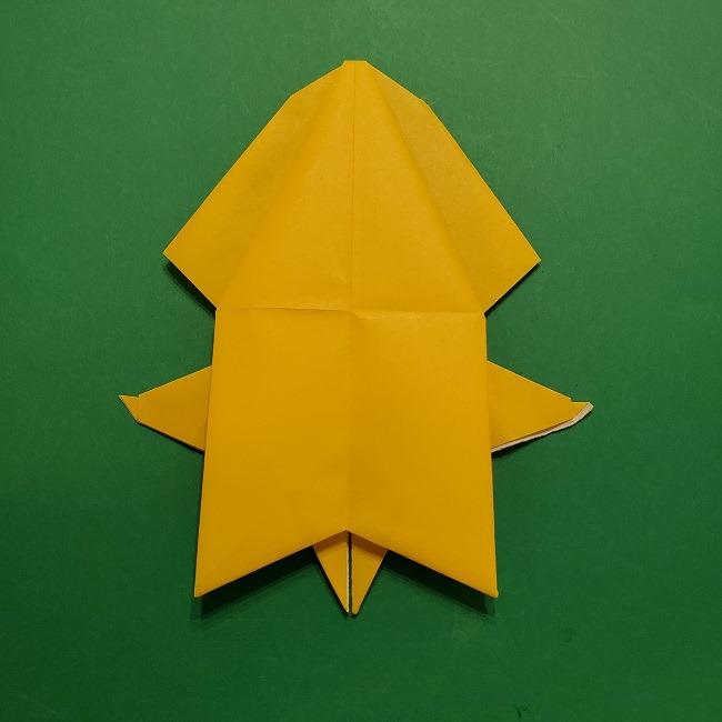 折り紙 マリオのゲッソーの折り方作り方 (46)