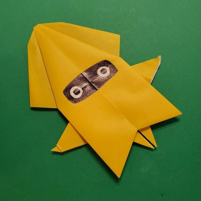 折り紙 マリオのゲッソーの折り方作り方 (48)