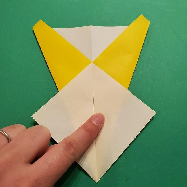 折り紙 マリオのゲッソーの折り方作り方 (7)