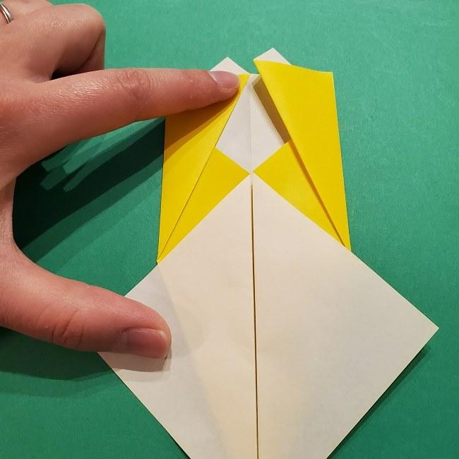 折り紙 マリオのゲッソーの折り方作り方 (8)