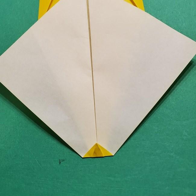 折り紙 マリオのゲッソーの折り方作り方 (9)