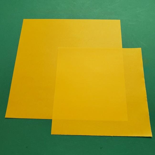 折り紙 マリオのゲッソー*用意するもの (1)