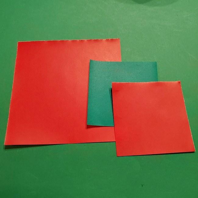 折り紙 マリオのフラワー*用意するもの (1)