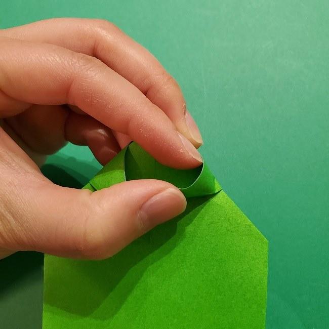 折り紙 マリオの土管の簡単な折り方 (11)