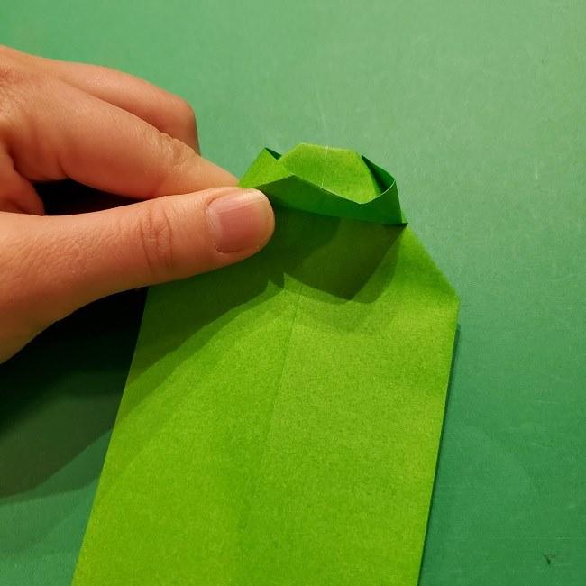 折り紙 マリオの土管の簡単な折り方 (12)