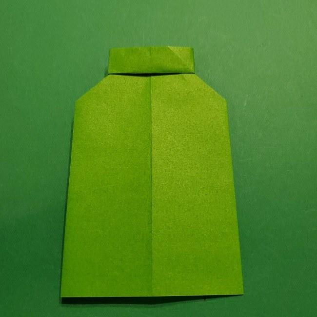 折り紙 マリオの土管の簡単な折り方 (13)