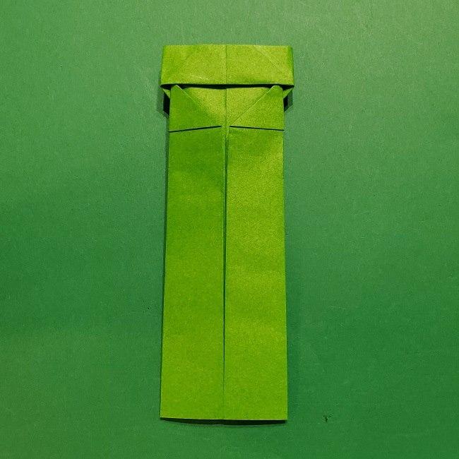 折り紙 マリオの土管の簡単な折り方 (14)