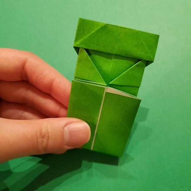 折り紙 マリオの土管の簡単な折り方 (15)