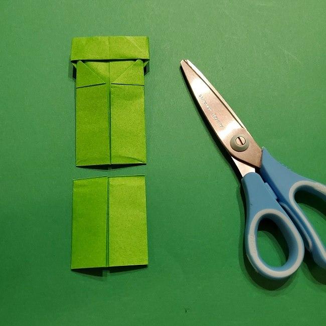 折り紙 マリオの土管の簡単な折り方 (16)