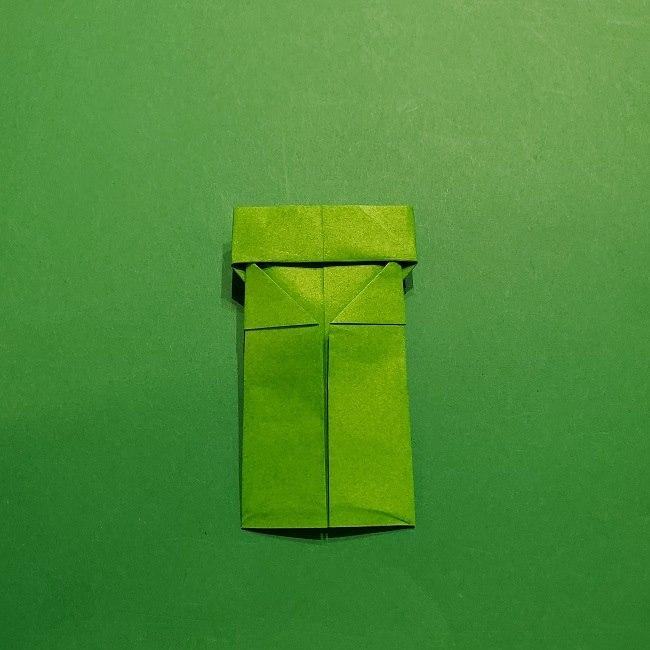折り紙 マリオの土管の簡単な折り方 (17)