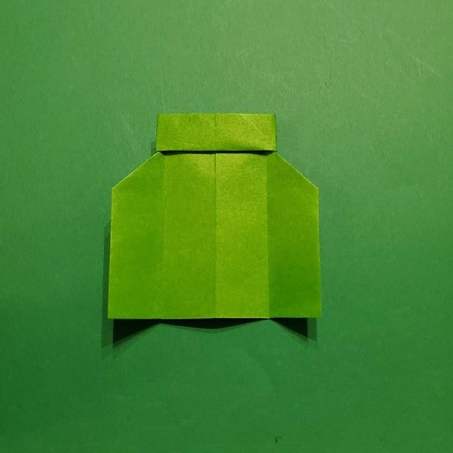 折り紙 マリオの土管の簡単な折り方 (18)