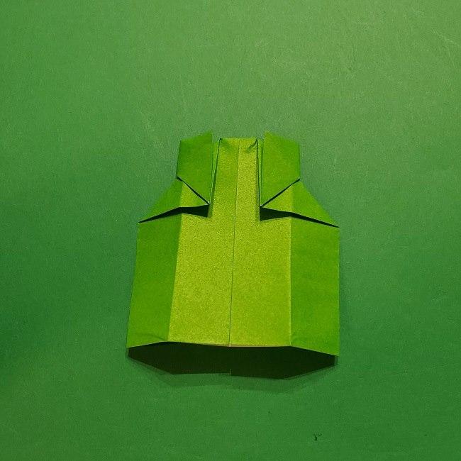 折り紙 マリオの土管の簡単な折り方 (19)
