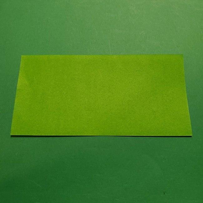 折り紙 マリオの土管の簡単な折り方 (2)