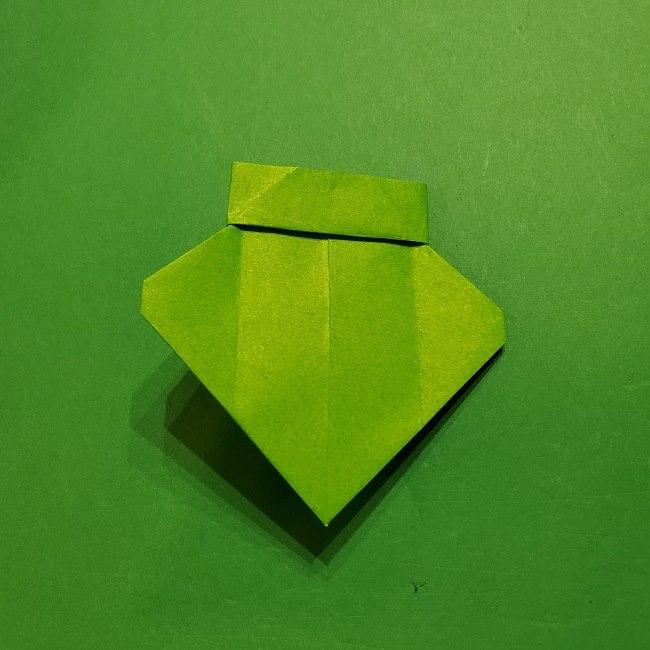 折り紙 マリオの土管の簡単な折り方 (21)