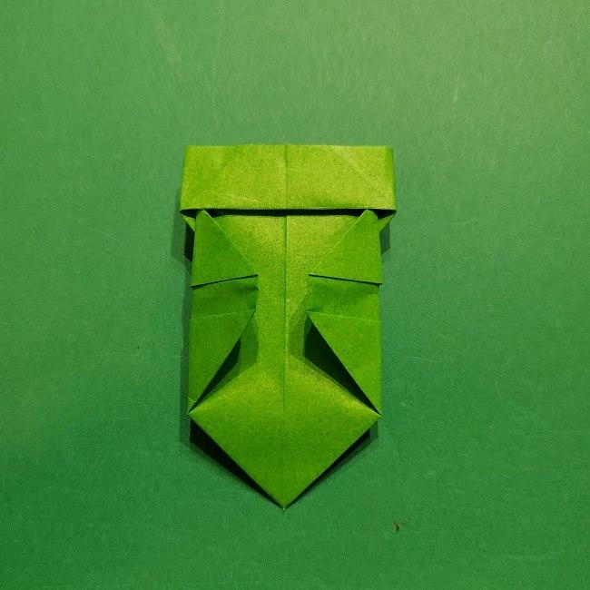 折り紙 マリオの土管の簡単な折り方 (22)