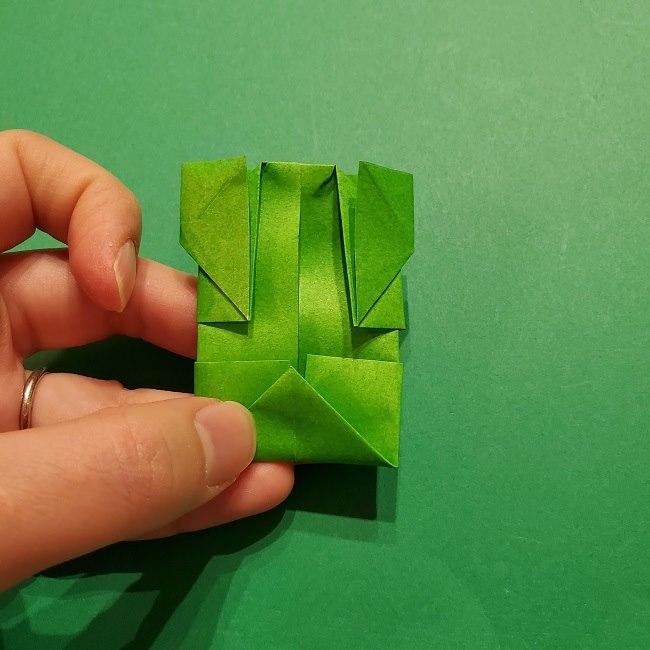 折り紙 マリオの土管の簡単な折り方 (24)