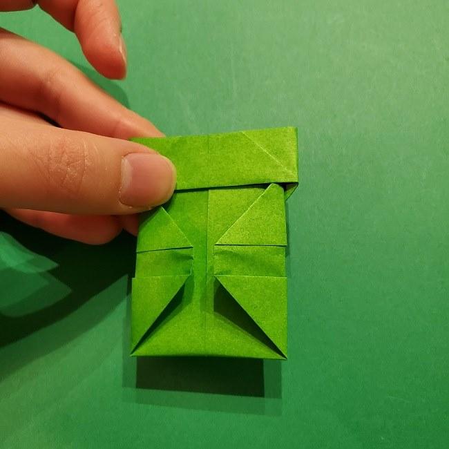 折り紙 マリオの土管の簡単な折り方 (25)