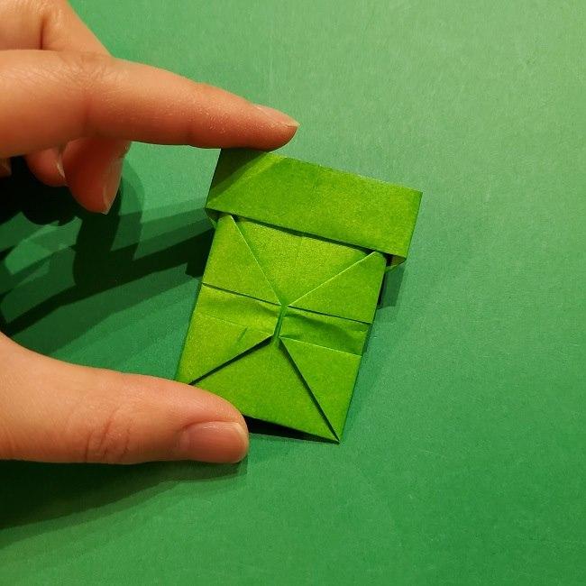 折り紙 マリオの土管の簡単な折り方 (26)