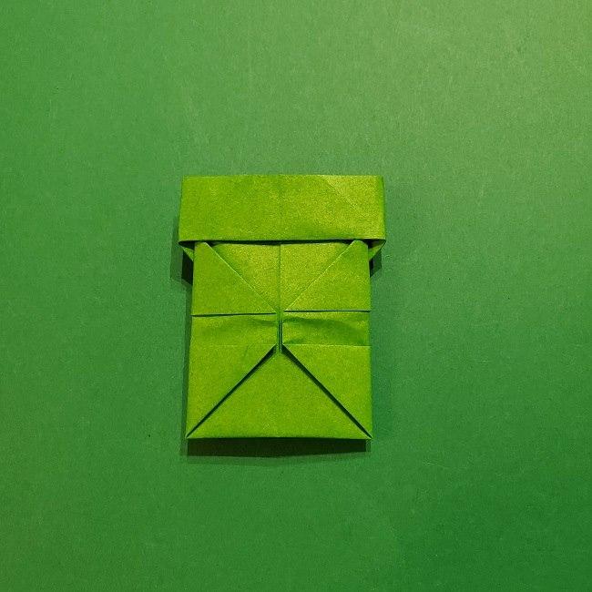 折り紙 マリオの土管の簡単な折り方 (27)