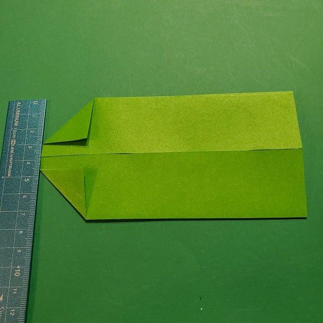 折り紙 マリオの土管の簡単な折り方 (5)