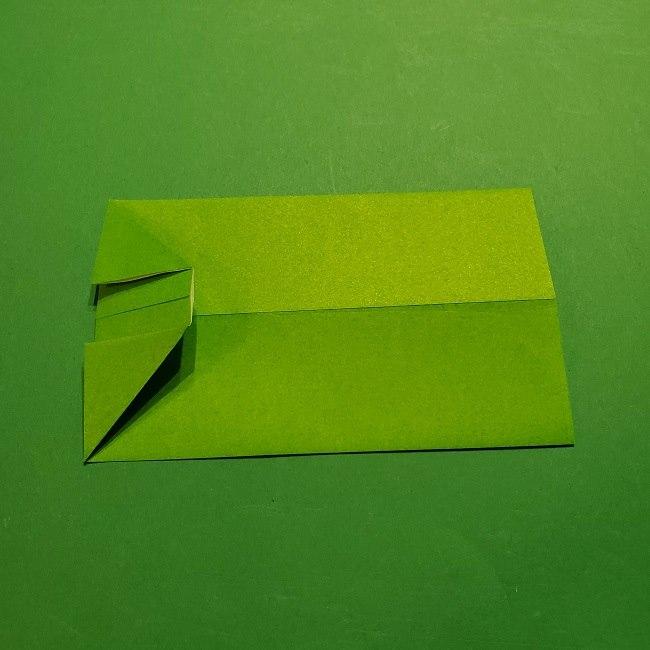 折り紙 マリオの土管の簡単な折り方 (7)
