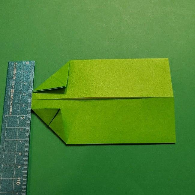 折り紙 マリオの土管の簡単な折り方 (9)