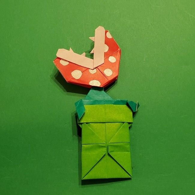 折り紙 マリオの土管の簡単な折り方