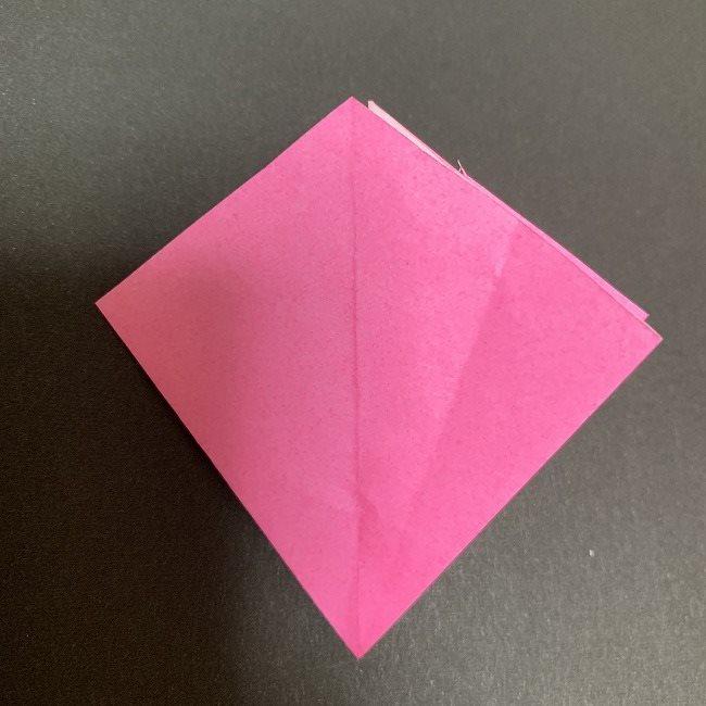 折り紙 五角形の桜*作り方折り方 (21)